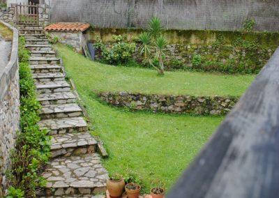 jardin trasero posada mellante