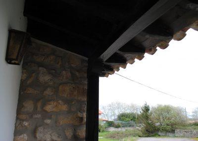 vista de balcon posada mellante